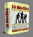 30 Hot Mini Site Templates With Master Resell Rights