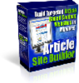 Thumbnail Article Site Builder With Private Label Rights and Master Resell Rights