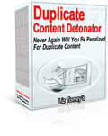 Thumbnail Duplicate Content Detonator - Turn Any Content You Have Into A Brand New Original Article