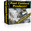 Thumbnail *NEW* Fast Content Producer Software - Create Content Rich, Dynamically Changing, Keyword Covered Web Pages