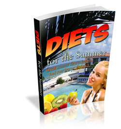 Product picture *NEW* Diets for the Summer With Master Resell Rights