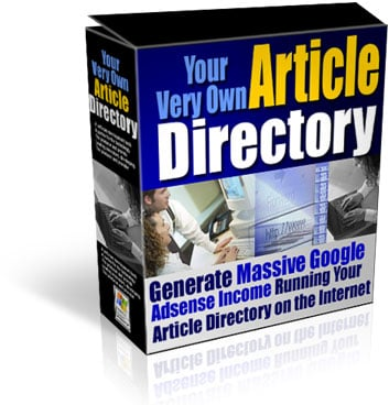 Product picture Article Directory Web Site Scripts with Resell Rights - Make Money With Google AdSense