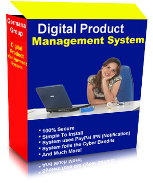 Product picture The Digital Product Management System AUTOMATES Your PayPal Product Sales And Secure Deliveries