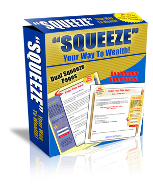 Product picture Dual Squeeze Pages Profit Pack- *TWO* Professionally-Designed, Squeeze Pages That Convert Like Crazy