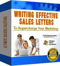 Product picture Writing Effective Sales Letters - Write High Response Sales Letters