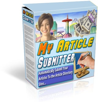 Product picture My Article Submitter - Drive Insane Traffic To Your Web Site Using The Magic of Article Submission