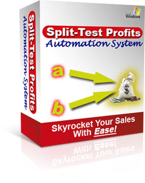 Product picture Split Test Profits Automation System With Master Resell Rights - Eliminate All Guess Work