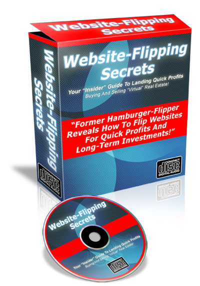 Product picture *NEW* Website Flipping Secrets - Insider Guide To Landing Quick Profits Buying And Selling Virtual  Real Estate